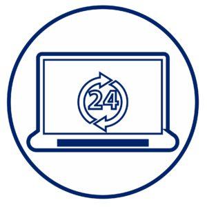 онлайн 24 на 7